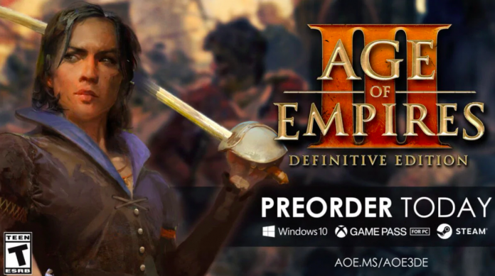 Age of Empires III Definitive Edition To Release On October 15