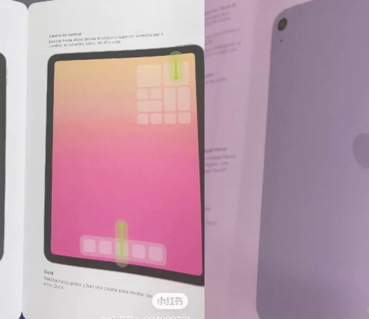 iPad Air 4 Leak Surfaces Online