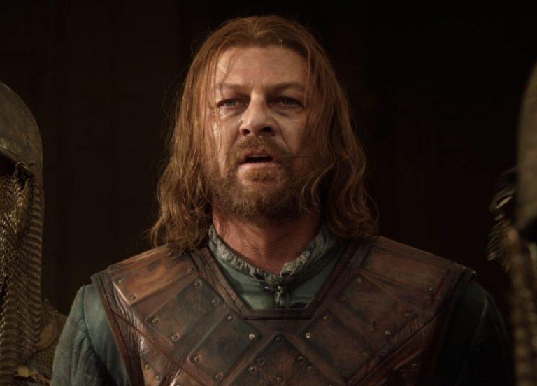 Sean Bean as Ned Stark