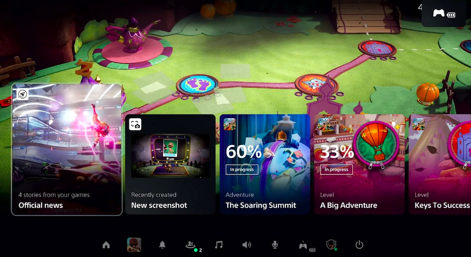 Sony PlayStation 5's Revamped UI Comes With Control Center