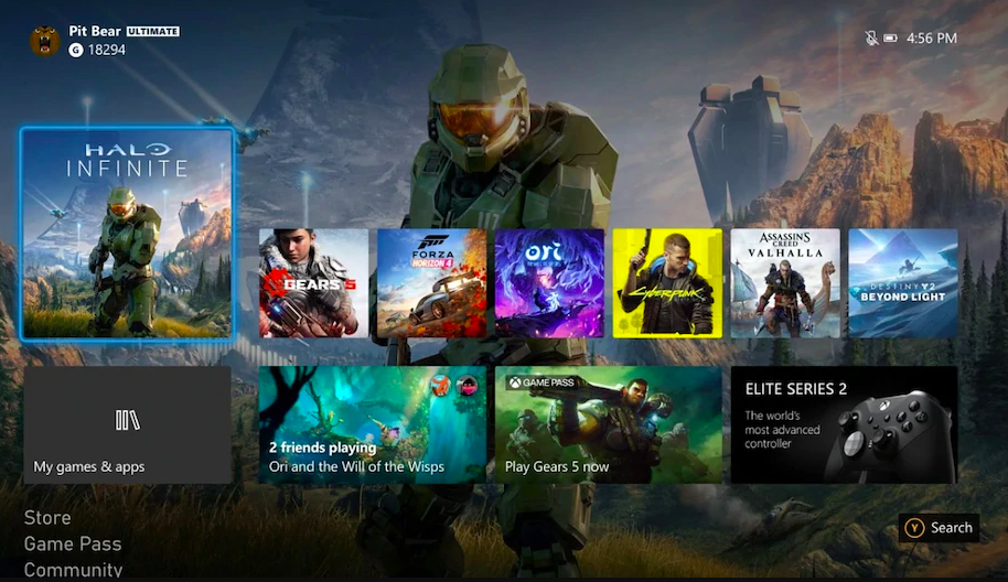 Xbox One Gets New Xbox UI With October Update