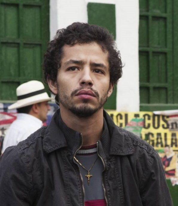 """Diego Cataño as Juan Diego """"La Quica"""" Díaz"""