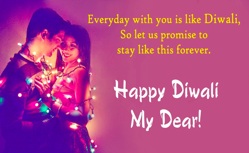 Happy Diwali Wishes for Couple, Wife & Husband