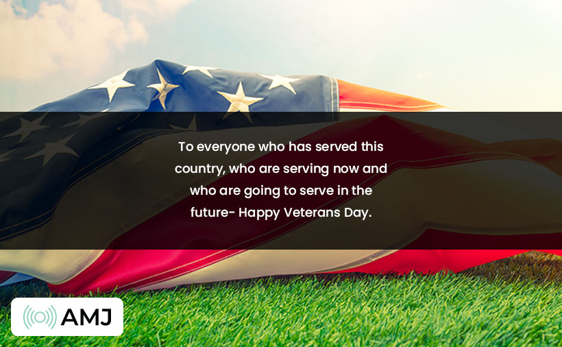 Happy Veterans Day Wishes