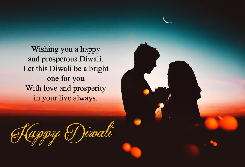 Romantic Diwali Wishes for Lovers