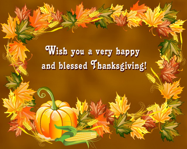 Thanksgiving Wishes