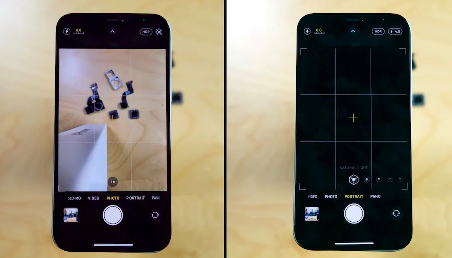 iPhone 12's camera module