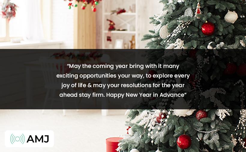 Advance Happy New Year 2021