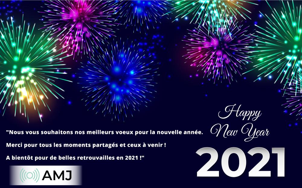 Bonne année Voeux 2021