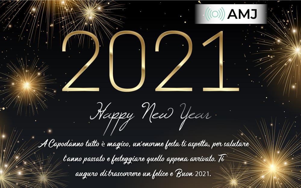 Felice Anno Nuovo 2021 Migliore Auguri