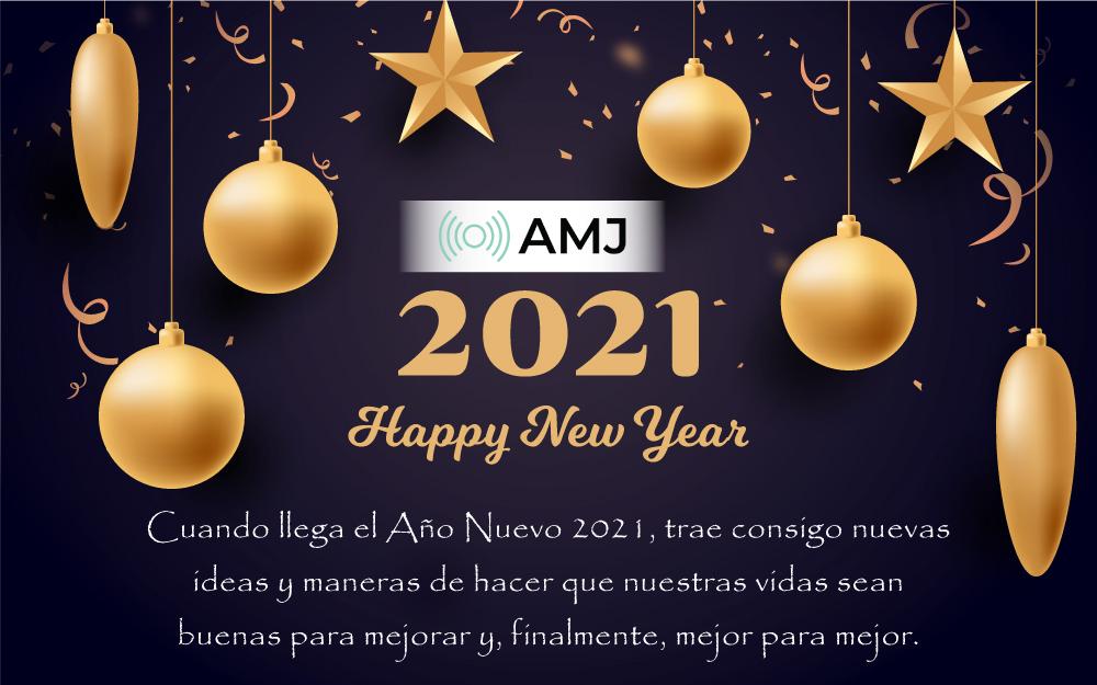Feliz Año Nuevo 2021 mensajes