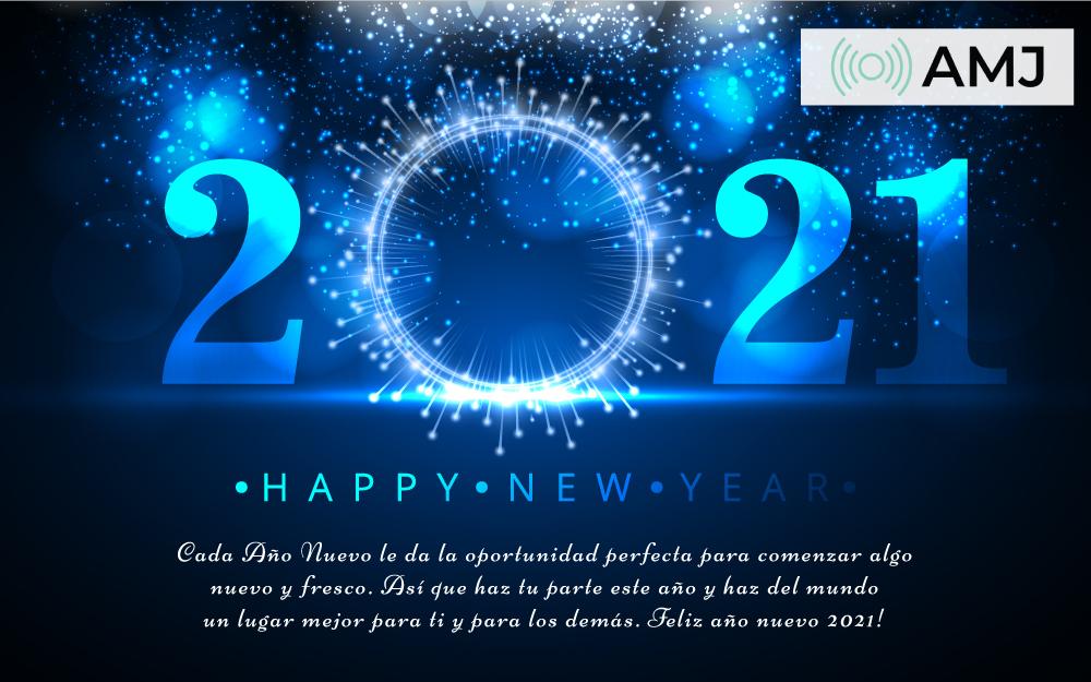Feliz Año Nuevo 2021 tarjetas & saludos