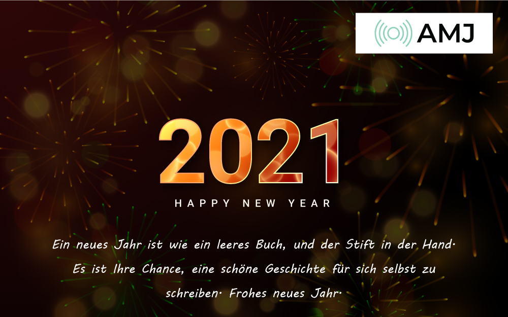 Frohes Neues Jahr 2021 Nachrichten