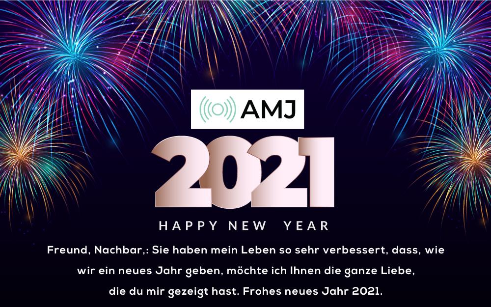 Frohes Neues Jahr 2021 Wünsche
