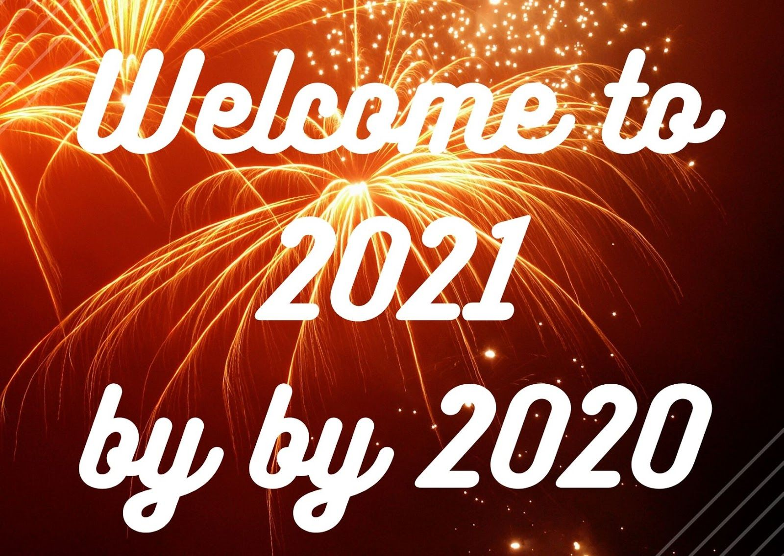 Goodbye 2020 Welcome 2021 HD Wallpaper