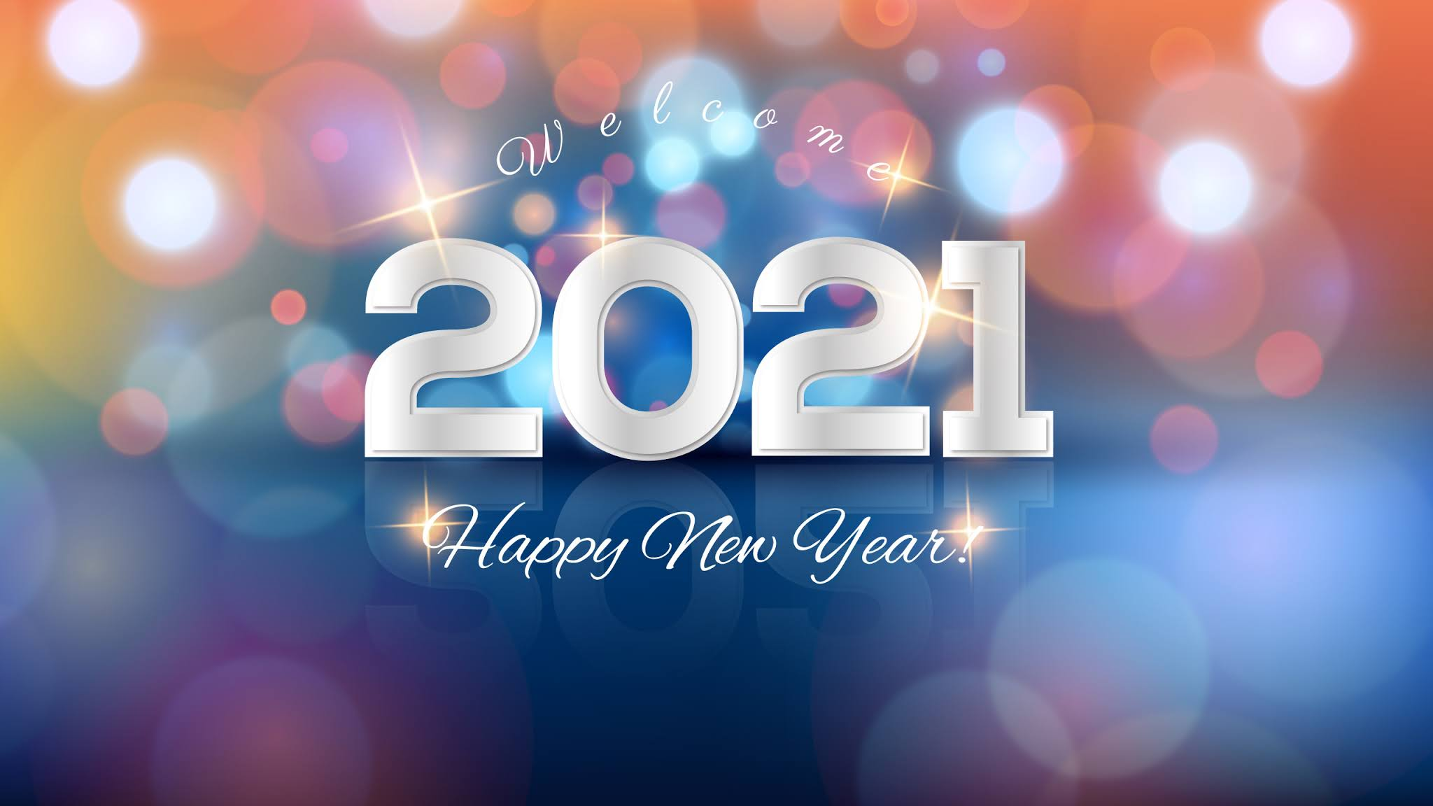 Goodbye 2020 Welcome 2021 Wallpaper