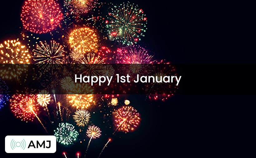 Happy 1st January Images