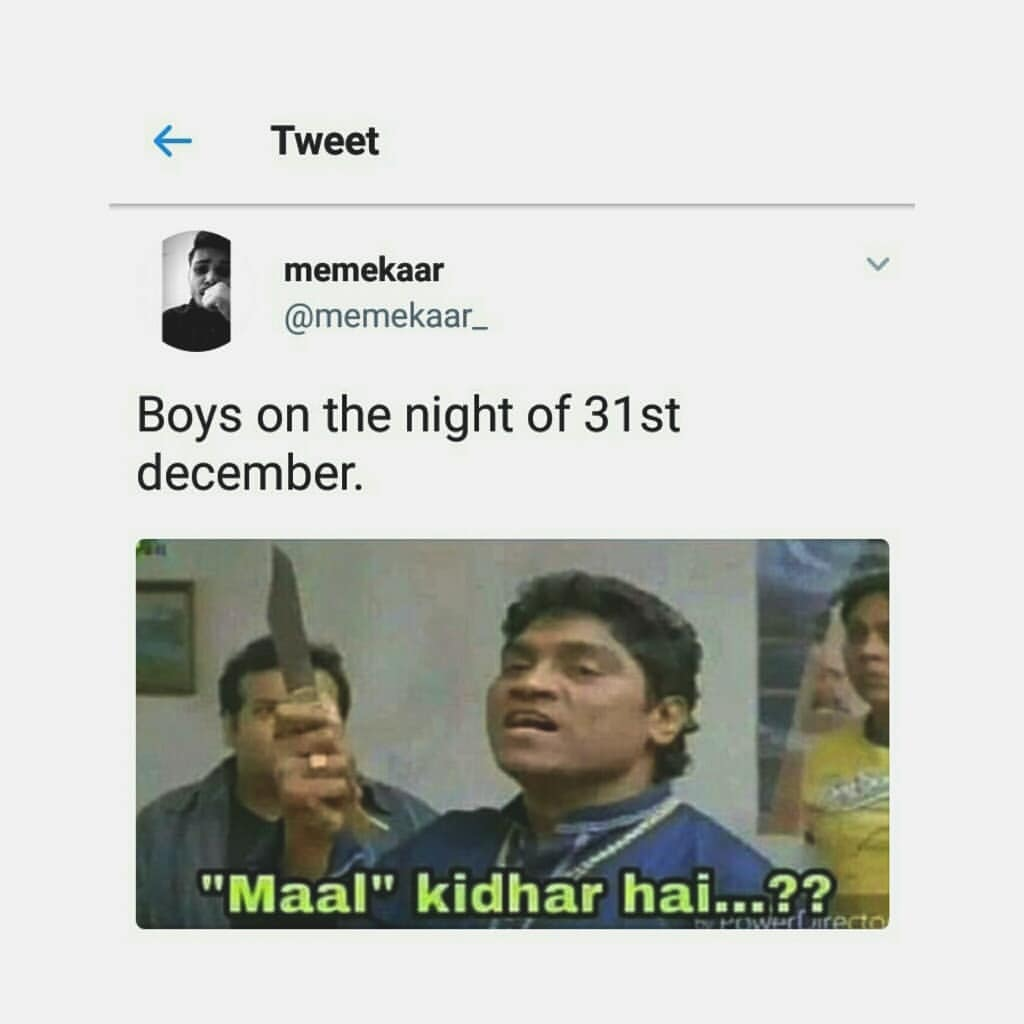 Happy 31st December Meme