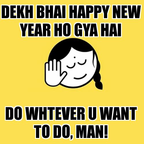 Happy New Year 2021 Funny Memes