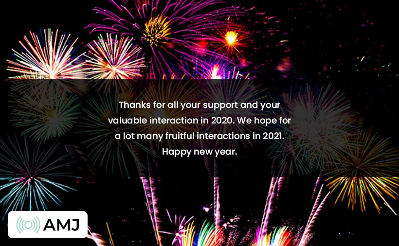 Happy New Year 2021 Images for Client