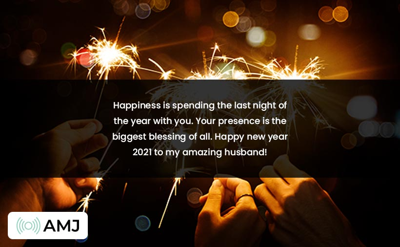 Happy New Year 2021 Images for Husband
