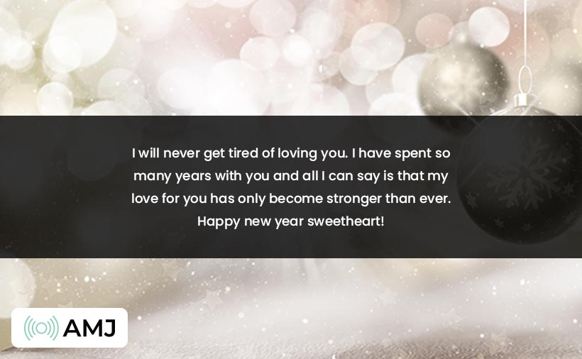 Happy New Year 2021 Images for Wife