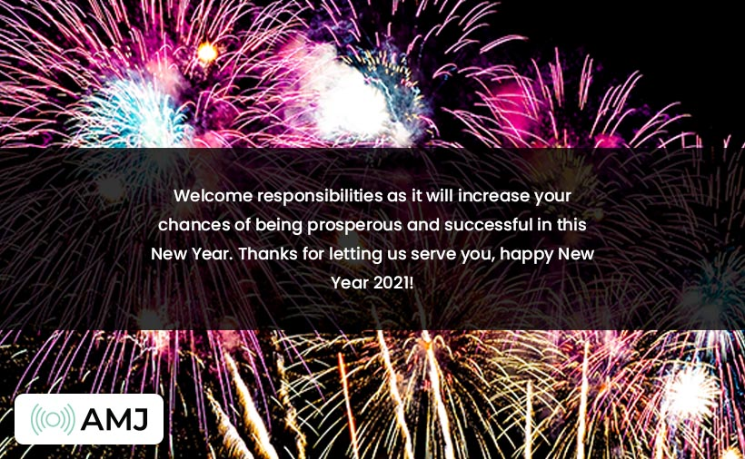 Happy New Year 2021 Messages for Clients