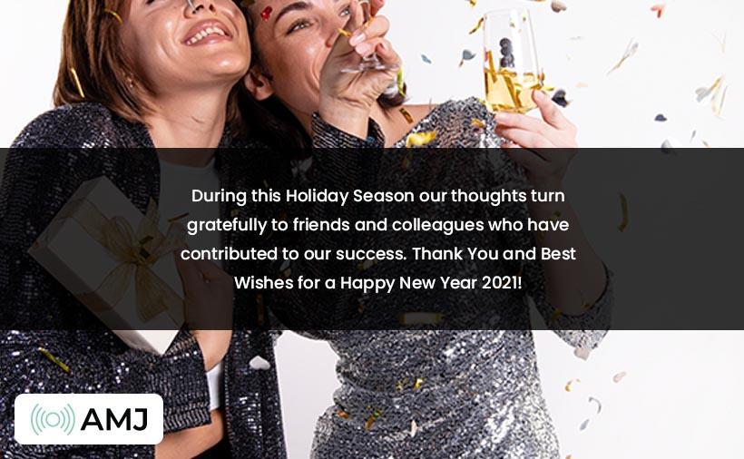 Happy New Year 2021 Status in English