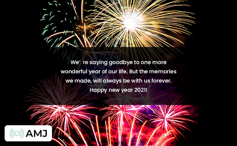Happy New Year 2021 Wishes for Boyfriend