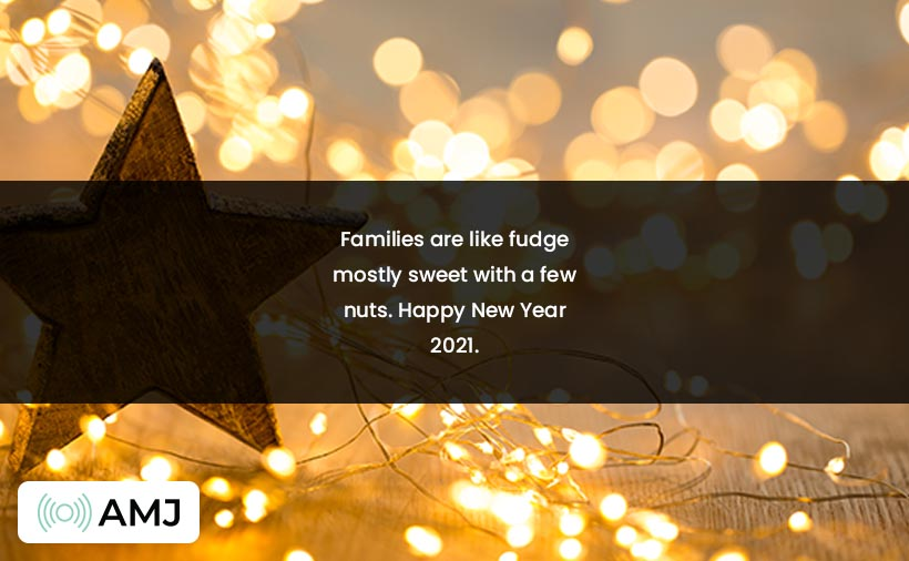 Happy New Year 2021 Wishes for Family