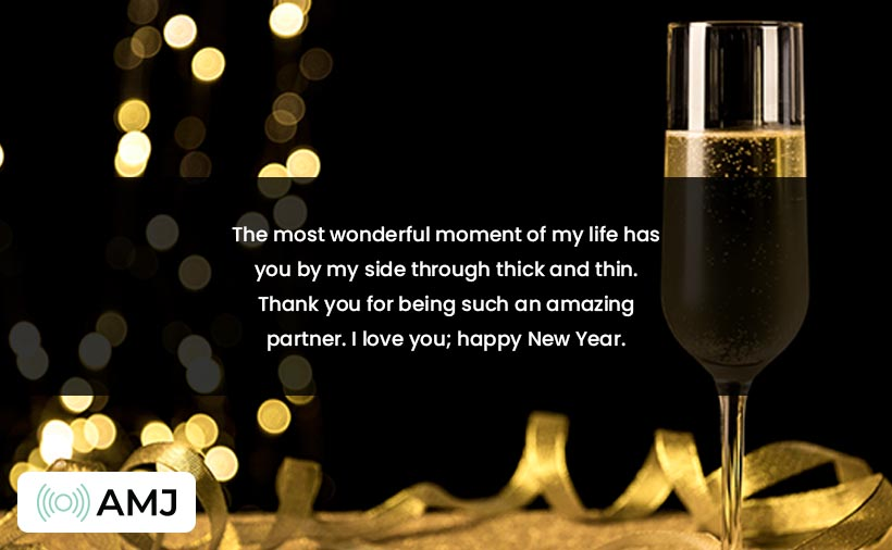Happy New Year 2021 Wishes for Wife & Husband