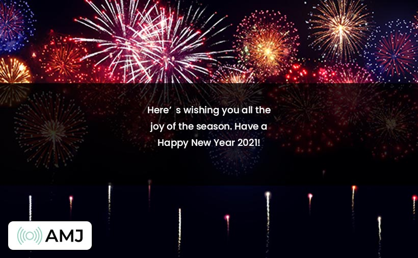 Happy New Year 2021 Wishes with Images