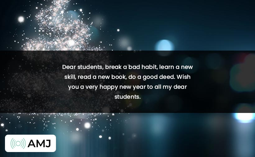 Happy New Year Images for Students