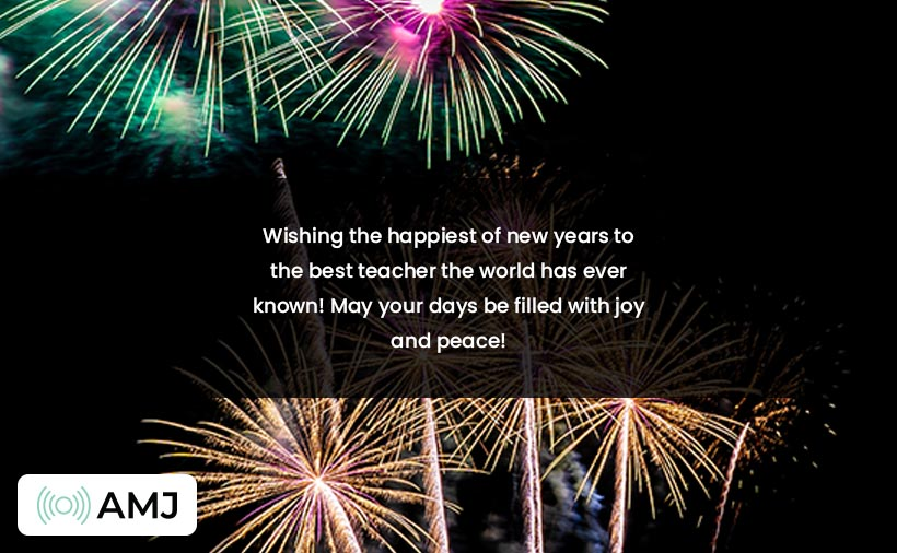 Happy New Year Images for Teachers