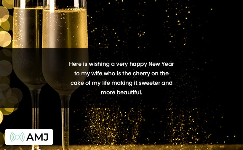 Happy New Year Messages for Wifey