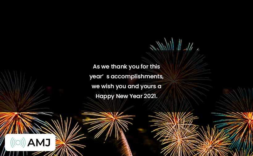 Happy New Year Wishes for Client, Customer & Business Partner