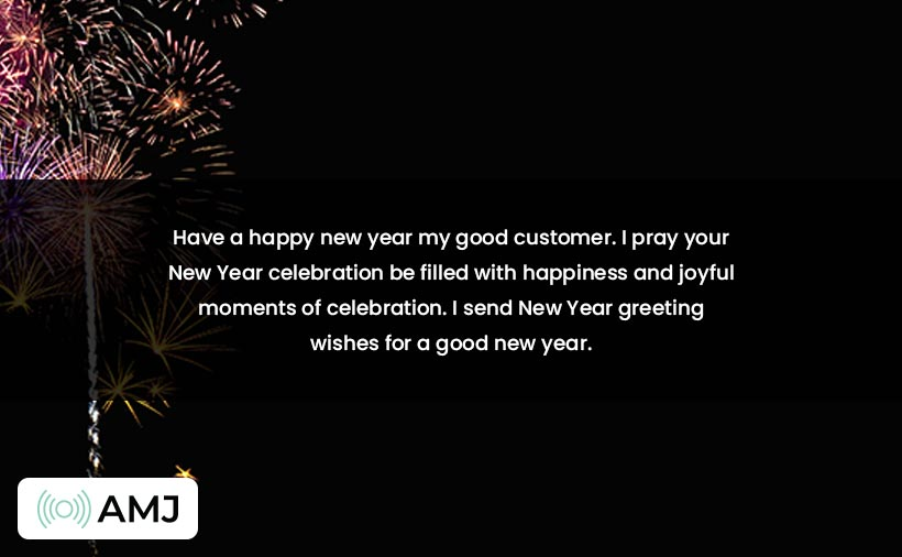 Happy New Year 2021 Wishes for Customers