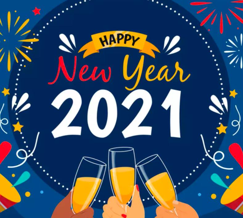 New Year 2021 WhatsApp DP