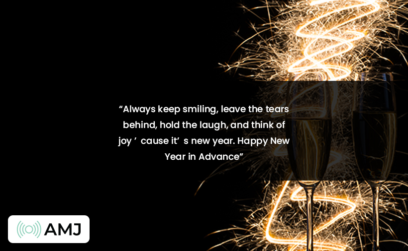 New Year 2021 advance wishes