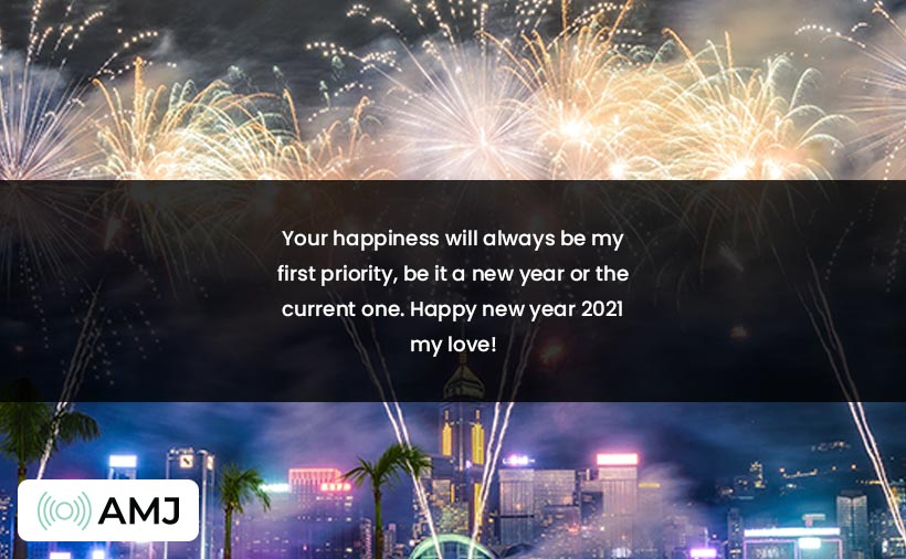 Romantic New Year 2021 Wishes for GF, BF, Lovers & Crush
