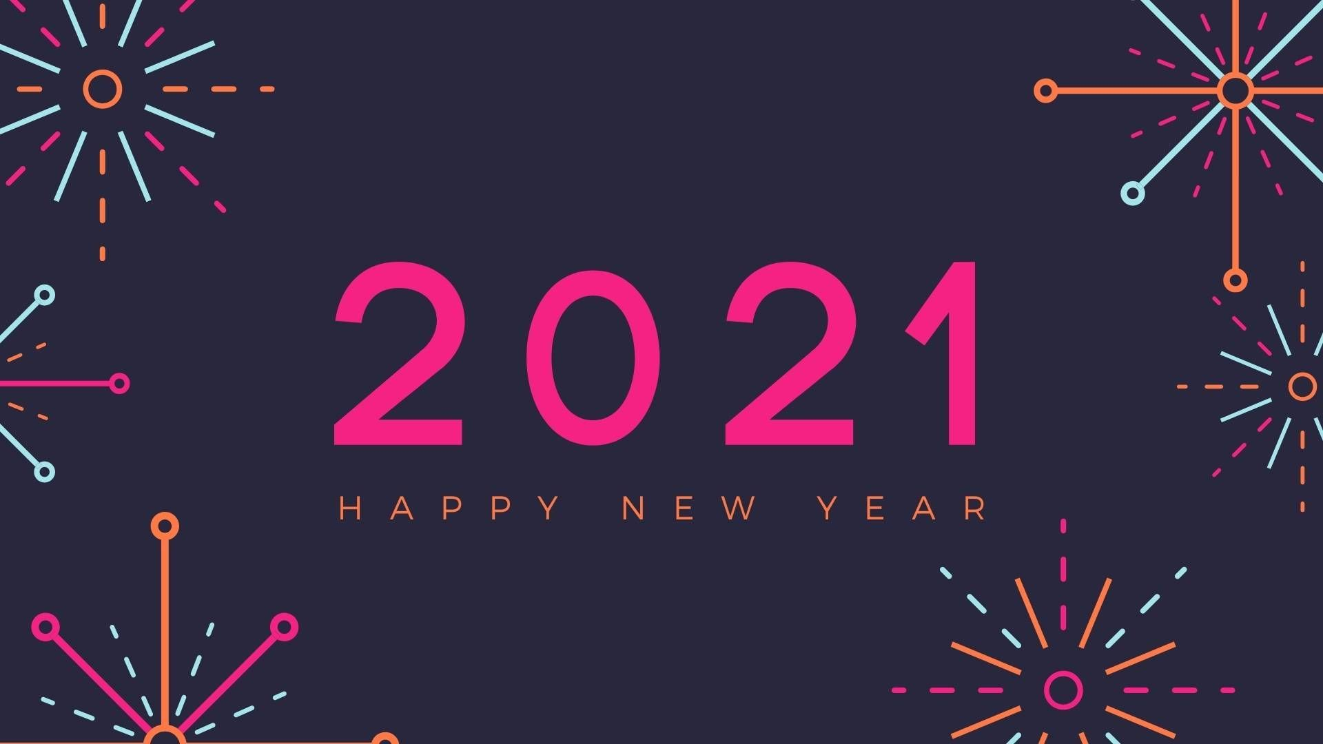 Welcome 2021 Wallpapers