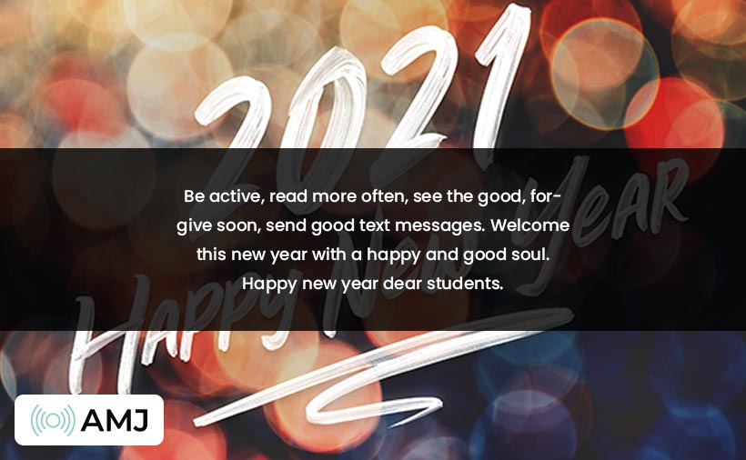 new year wishes for students