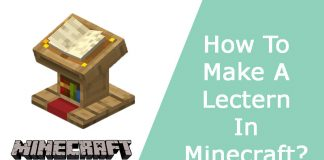 How To Make A Lectern In Minecraft?