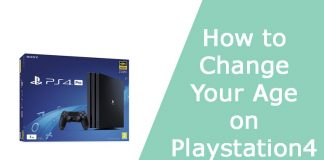 How to Change Your Age on Playstation 4