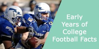 Early Years of College Football Facts