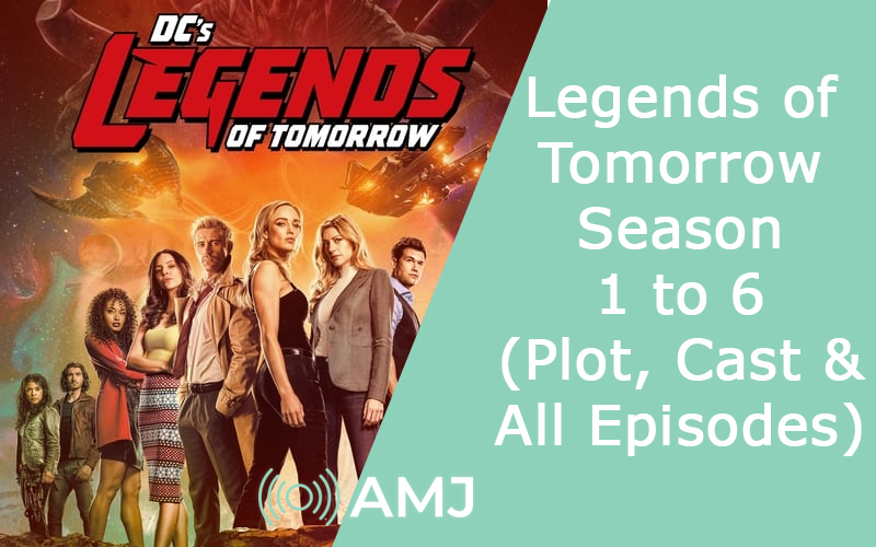 Index of Legends of Tomorrow