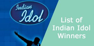 List of Indian Idol Winners